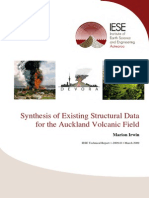 Irwin- Synthesis of Existing Structural Data for the Auckland Volcanic Field