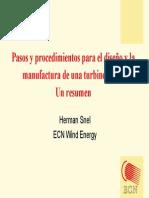 Diseño y Manufatura de Turbina