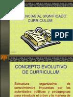 evolucion del concepto de curriculum