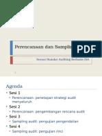 Perencanaan Dan Sampling Audit