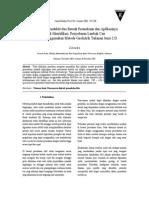 Pencitraan Konduktivitas Bawah Permukaan dan Aplikasinya untuk Identifikasi Penyebaran Limbah Cair Dengan Menggunakan Metode Geolistrik Tahanan Jenis 2 D