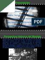 Perspectiva Historica Del Montaje