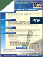 IISC Phd  Programme in Management 2015