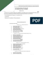 Listas electorales a los ayuntamientos de La Gomera