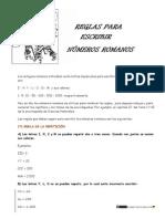 Números Romanos Reglas1