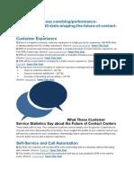 40 Statistics Sahping Contact Centres -Important