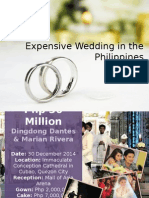 Expensive Wedding in the Philippines