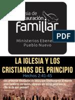 La Iglesia Primitiva - Ebenezer Pueblo Nuevo Such