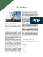 Pozo petrolífero