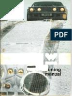 Weber Carburetor Tuning Manual