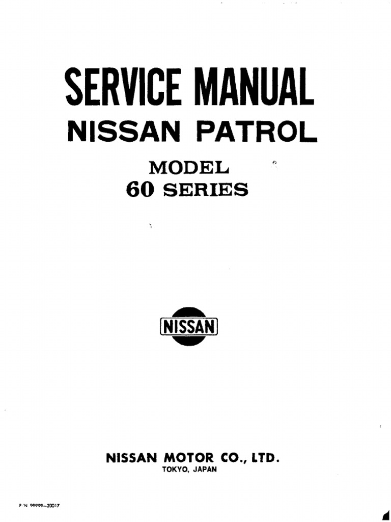Nissan patrol 60 series clutch manual transmission fandeluxe Images