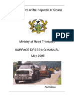 Surface Dressing Manual - May 2005