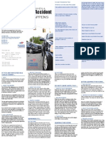 Car Accident Brochure English