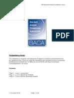 BACA Scheme Competencies