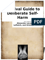 survival guide to deliberate self-harm manuals