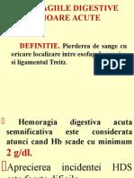 hemoragia digestiva superioara