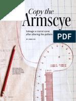 Copy the Armscye