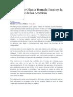 Discurso de Ollanta Humala Tasso en La VII Cumbre de Las Américas