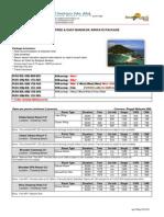 Koh Samui - 3d & 4d f&e Bangkok Airways Package (Apr-jun15)