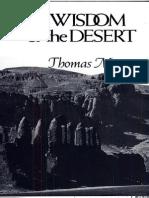 The Wisdom of the Desert by Thomas Merton