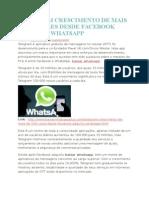 Telegram Crescimento de Mais de 150 Vezes Desde Facebook Adquiriu Whatsapp
