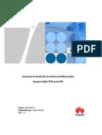 Guia Para Alineacion de Enlaces de Microondas_ Huawei Optix RTN900