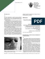 Hughes 2005 British Journal of Oral and Maxillofacial Surgery
