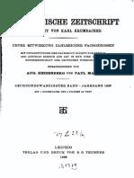 Byzantinische Zeitschrift Jahrgang 26 (1926)