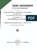 Byzantinische Zeitschrift Jahrgang 27 (1927)
