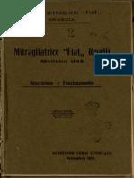 Mitragliatrice Fiat Revelli, Modello 1914