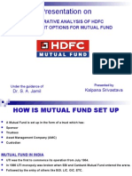 Comparative Analysis of HDFC