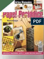 Manualidades con Papel Periódico