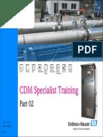 02 CDM Specialist Training Rev01