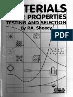 Materials Properties Testing & Selection