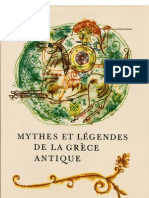 mythes Et Legendes de La Grece Antique