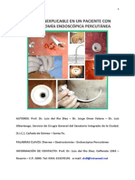 Diarrea Inexplicable en Un Paciente Con Una Gastrostosmia Percutanea. Caso Clinico