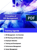 Principles of HRM
