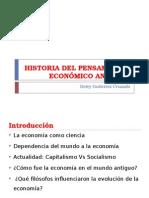 Historia Del Pensamiento Económico Antiguo