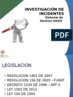 3. Investigacion de Accidentes Pos