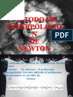 Interpolacion de Newton