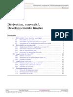 Dérivation, convexité, Développements limités .pdf