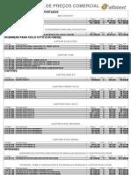 Tabela Comercial Reduzida - TAB08-1