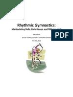 Rhythmic Activities Unit Plan (Repaired)