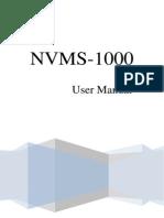 Nvms 1000 3.1 User Manual