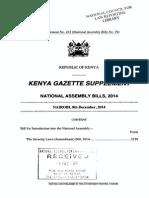 SecurityLaws Amendment Bill 2014