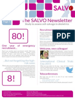 SALVO Newsletter Apr 15