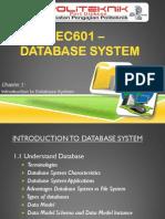 Database Chapter 1