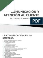 Comunicación en Las Empresas
