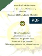 Johannes Uske, Laura Morales - Talleres, Formaciones y Contacto 2015-1