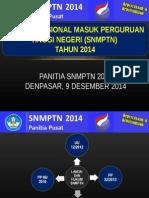Sosialisasi SNMPTN 2014